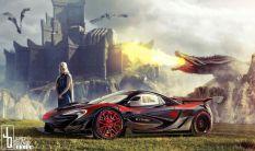 Autók a Trónok harca szereplőinek
