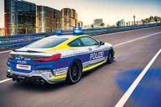 AC Schnitzer 8 series Police Car