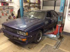 Audi urquattro 1981 kék